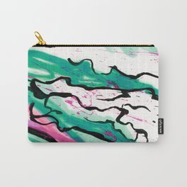 AquaPink Graffiti  Carry-All Pouch