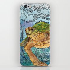 Shelley Blue iPhone Skin