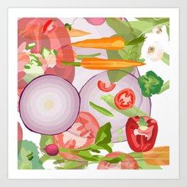 The Kitchen Sink Art Print