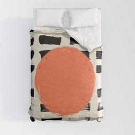 Mid Century Modern Art Print, SUN Art, Extra Large Wall Art, Mid Century Print, CIRCLE Print, Modern Comforters