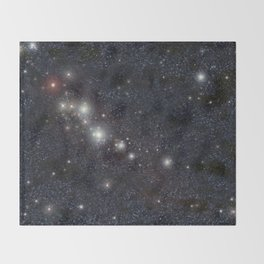 Bright stars Throw Blanket