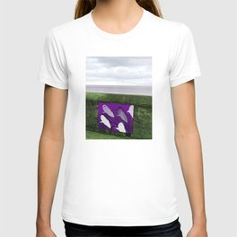 violet sharks T-shirt
