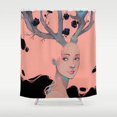 Lady Cornue. Shower Curtain