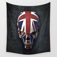 british Wall Tapestries featuring British horror by GrandeDuc