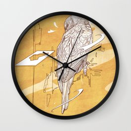 little lorikeet Wall Clock