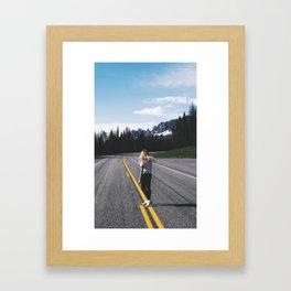 Somewhere, USA Framed Art Print