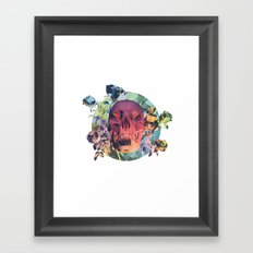 Low Poly Death Framed Art Print