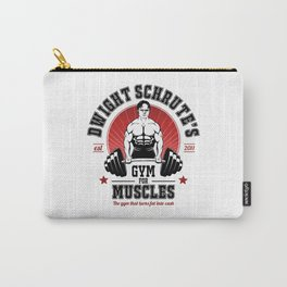 Schrute's Gym For Muscles Carry-All Pouch