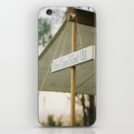 Vintage Civil War Sign Ulysses Grant iPhone Skin