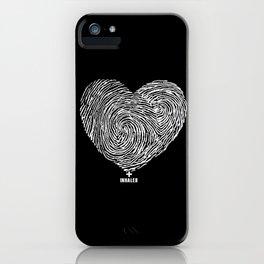 heartprint iPhone Case