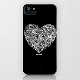 heartprint iPhone Case