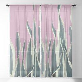Tropicana 01 Sheer Curtain