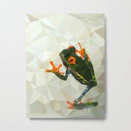 Treefrog Metal Print