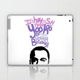 Sheldon Yoohoo Laptop & iPad Skin