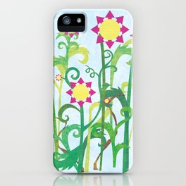 Unkept Garden iPhone Case