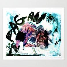 Pan Varient Art Print
