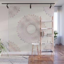 Rose Gold Mandala Wall Mural