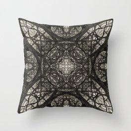 Branching Symmetry Throw Pillow