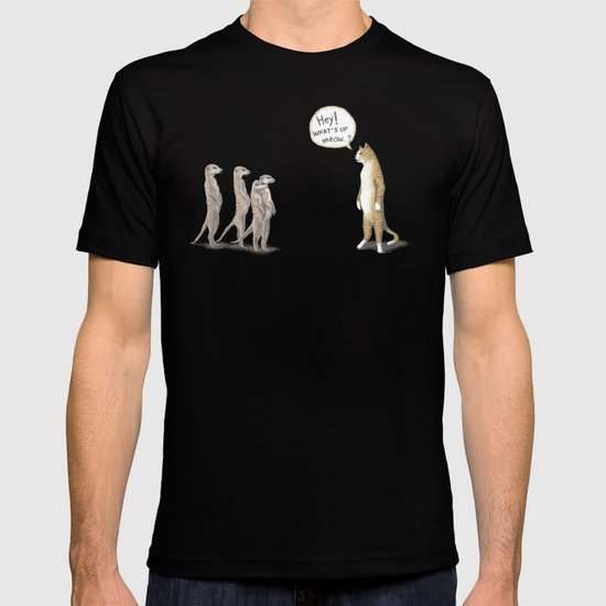 Cat & Meerkats T-shirt