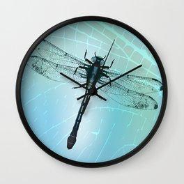 Dragonfly vector Wall Clock
