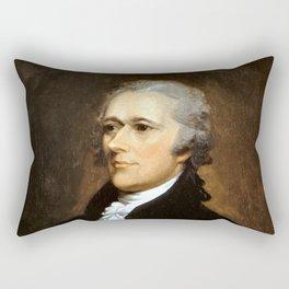 Alexander Hamilton Rectangular Pillow