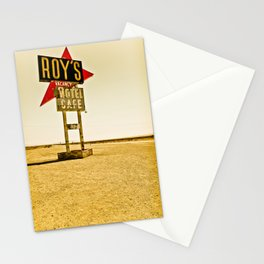 Roy's Motel and Cafe (Route 66) Stationery Cards
