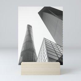 colorless shanghai 4 Mini Art Print