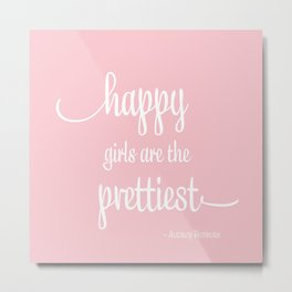 Happy Girls Metal Print