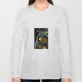 gold dark matter Long Sleeve T-shirt