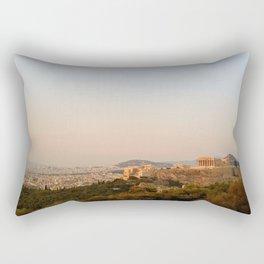 Rose Haze Rectangular Pillow