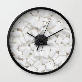 Sugar cubes & Tiny Tiny Camera Wall Clock