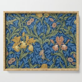 William Morris Flowers Serving Tray