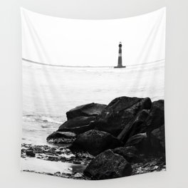 Morris Island Lighthouse Wall Tapestry