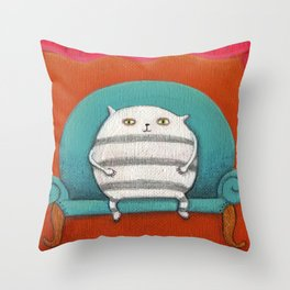 Mr. Big Throw Pillow