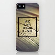 Music Is Slim Case iPhone (5, 5s)