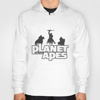 planet of the apes Hoodies featuring Planet of the Apes by leea1968