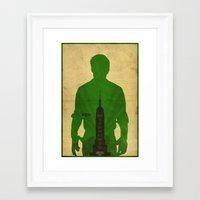 bioshock infinite Framed Art Prints featuring Booker - Bioshock: Infinite Poster by Edward J. Moran II