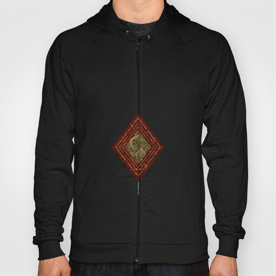 - lines of diamonds - Hoody