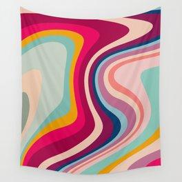 Boho Fluid Abstract Wall Tapestry