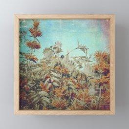 Vintage Garden Framed Mini Art Print
