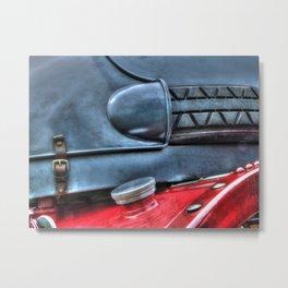 Vintage Car Petrol Tank Metal Print