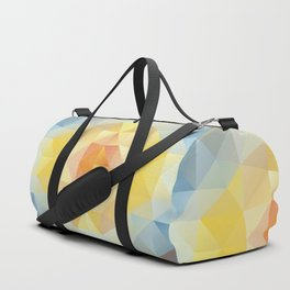 Kaleidoscopic design in soft colors Duffle Bag