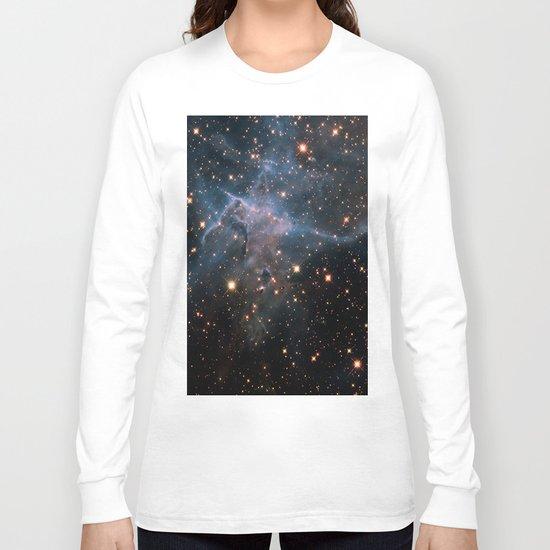 Mystic Mountain Nebula Long Sleeve T-shirt