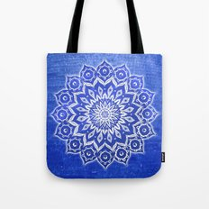 okshirahm, blue crystal Tote Bag