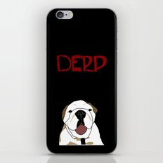 Derp 3 iPhone & iPod Skin