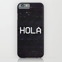 HOLA iPhone Case
