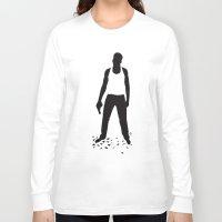 die hard Long Sleeve T-shirts featuring DIE HARD by Alain Bossuyt