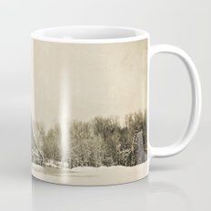 Winter Barn Mug