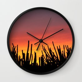 Catching fire Wall Clock