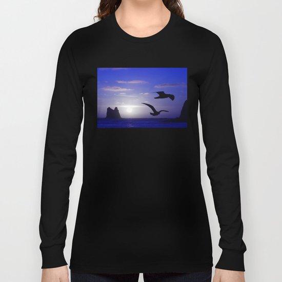 the double bird blues Long Sleeve T-shirt